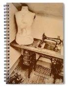 A Dressmakers Corner Spiral Notebook