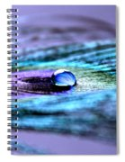 A Drop Of Royalty Spiral Notebook