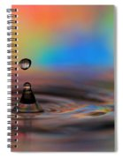 A Drop Spiral Notebook