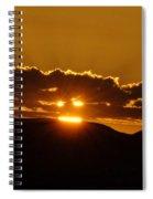 A Face In The Sunrise  Spiral Notebook