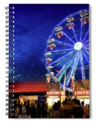 A Fair Moon Spiral Notebook
