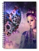 A Fairy Butterfly Kiss Spiral Notebook