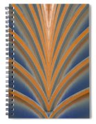 A Fan Of Art Deco Spiral Notebook