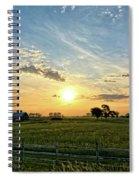A Farmer's Morning 2 Spiral Notebook