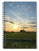 A Farmers Morning Spiral Notebook