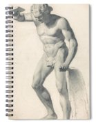 A Faun With Pipes Spiral Notebook
