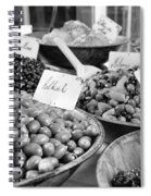 A Feast Of Olives In Mono Spiral Notebook