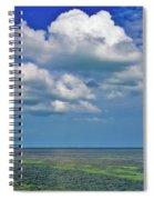 A Few Clouds In Keywest Spiral Notebook