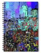 A Field Of Flowers Spiral Notebook