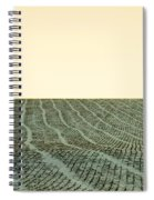 A Field Stitched Spiral Notebook