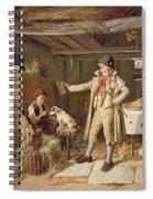 A Fine Attire Spiral Notebook