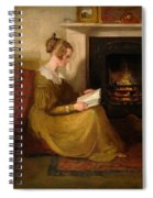 A Fireside Read Spiral Notebook