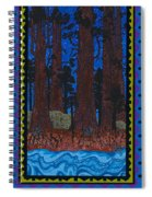 A Forest Whispers Spiral Notebook