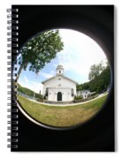 A Fish Eye View Spiral Notebook