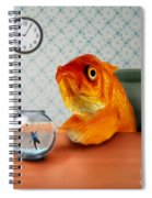 A Fish Out Of Water Spiral Notebook