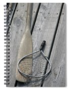 A Fisherman's Tools Spiral Notebook