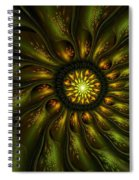 A Floral Feeling Spiral Notebook