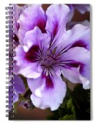 A Floral For Jalapeno Spiral Notebook