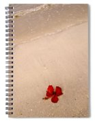 A Flower And The Sea Spiral Notebook