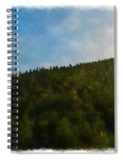 A Forested Dune... Spiral Notebook