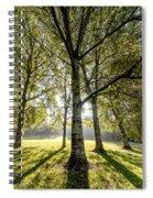 a Forest part 1 Spiral Notebook