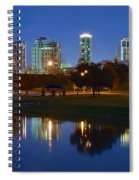A Fort Worth Night Spiral Notebook