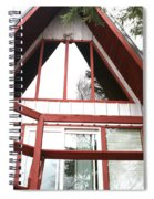 A-frame Spiral Notebook