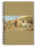 A Frank Encampment In The Desert Of Mount Sinai 1842 Spiral Notebook