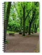 A Freiburg Germany Park Spiral Notebook