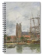 A French Port Spiral Notebook