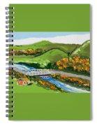 A Fresh Weekend Away Spiral Notebook