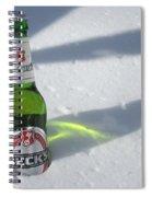 A Frosty Beck's Spiral Notebook