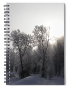 A Frosty Morning Spiral Notebook