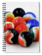 A Fun Game Of Marbles Spiral Notebook
