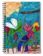 A Garden Adventure Spiral Notebook