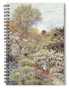 A Garden In Spring Spiral Notebook