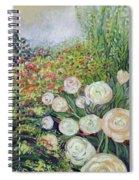 A Garden Romance Spiral Notebook