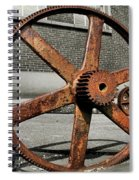 A Gear In A Gear Spiral Notebook