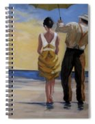 A Gentleman And His Lady Spiral Notebook