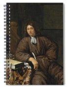 A Gentleman At His Desk Spiral Notebook
