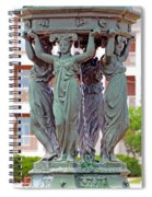A Gift From A Sister City Spiral Notebook