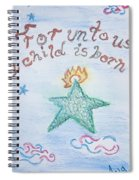 A Gift From Heaven Spiral Notebook