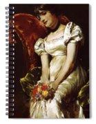 A Girl 1 Spiral Notebook