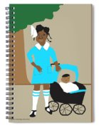 A Girl And Her Doll Spiral Notebook