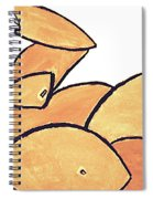 A Girl From Fernando Botero's House Spiral Notebook