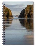 A Glossy Beach Spiral Notebook