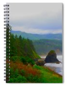A Glimpse Of Oregon Spiral Notebook