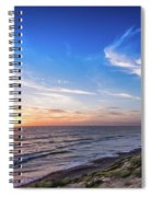 A Glorious Sunset At North Ponto, Carlsbad State Beach Spiral Notebook