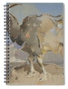 A Goat By Joseph Crawhall 1861-1913 Spiral Notebook