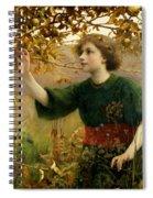 A Golden Dream Spiral Notebook